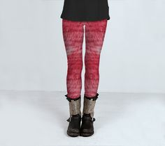 Feeling All Pink And Fuzzy   Leggings by JUST3Js on Etsy