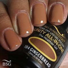UNITY All-In-One Colour Gel Polish - 184 - Gingerbread