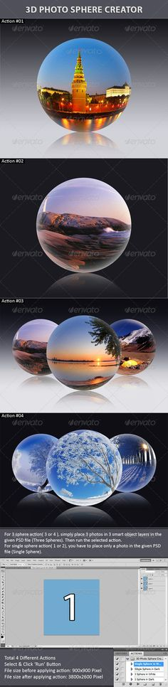 3D Photo Sphere Creator