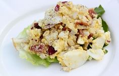 This Paleo Egg Salad Recipe is college-friendly, cheap, and delicious.