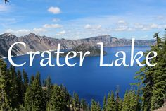 Crater Lake National Park :http://jebamyadventures.com/crater-lake-national-park/