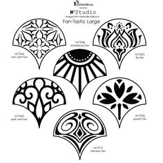 Tattoo Symbols and What They Mean Art Nouveau Design, Deco Design, Stencil, Lino Art, Jugendstil Design, Handmade Stamps, Art Deco Pattern, Jewelry Drawing, Zentangle Patterns