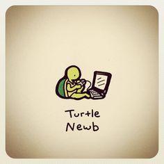 Cute Turtle Drawings, Cute Drawings, Doodle Wall, Disney Drawings Sketches, Note Doodles, Cute Turtles, Tmnt, Tortoise, Drawing Ideas