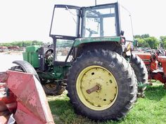 John Deere 4450 tractor salvaged for used parts. This unit is available at All States Ag Parts in Black Creek, WI. Call 877-530-2010 parts. Unit ID#: EQ-24602. The photo depicts the equipment in the condition it arrived at our salvage yard. Parts shown may or may not still be available. http://www.TractorPartsASAP.com
