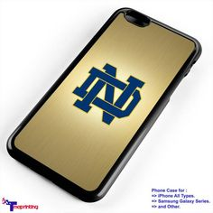 Notre Dame Fighting Irish NFL Logo - Personalized iPhone 7 Case, iPhone 6/6S Plus, 5 5S SE, 7S Plus, Samsung Galaxy S5 S6 S7 S8 Case, and Other