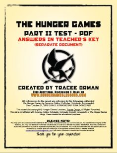 The Hunger Games Essay Question???