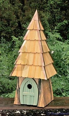 Heartwood Lord of the Wing Bird House, Moss Green at BestNest.com