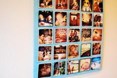 Photo Board (cool way to display your fave pics!  get that vintage look with instagram)