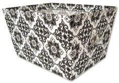 Trend Lab Large Fabric Storage Bin, Versailles $23.95