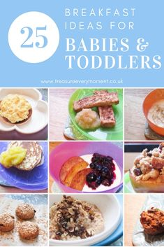 WEANING: 25 Breakfas