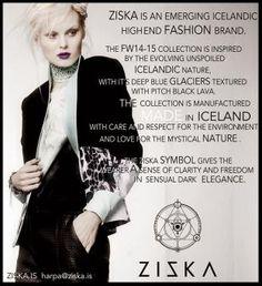 NordicBalt Fashion: Beauty, News & Reviews : Harpa Einarsdottir - Icelandic designer behind mystical Ziska brand
