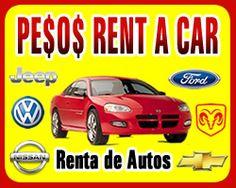 PESOS RENT A CAR - RENTA DE AUTOS www.yaloencontre.mx/rentadeautos