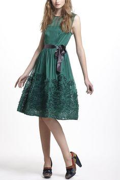 Caridad Ruffled Dress - Anthropologie.com