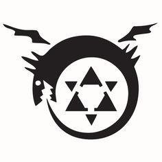 Fullmetal Alchemist - Ora Boris Tattoo