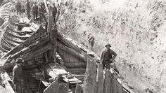 the Oseberg ship burial mound Germanic Tribes, Viking Ship, Grand Prix, Archaeology, Finland, Denmark, Mythology, Norway, Vikings