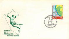 Peru 1985 FDC Ciudad Constitucion