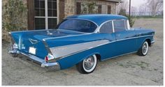 1957 Chevy Bel Air 2dr hardtop
