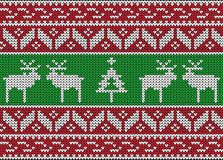 Knitted Seamless Winter Pattern - Download From Over 47 Million High Quality Stock Photos, Images, Vectors. Sign up for FREE today. Image: 45878916