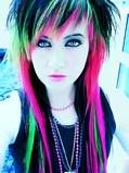 Neon Scene Hair Photo:  This Photo was uploaded by rosii-riot. Find other Neon Scene Hair pictures and photos or upload your own with Photobucket free im...