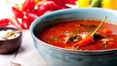 Husté, syté polévky prohlašujeme za nejlepší pokrm k večeři, zvlášť v zimním období. Tomato Soup, Tortilla Chips, Chili, Salsa, Curry, Mexican, Lunch, Homemade, Traditional