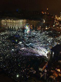 Катерина Лебедева Київ,Євромайдан · 1 січня 2014 З новим роком!