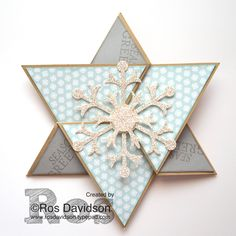 Star card #stampinup #brightandbeautiful #christmas