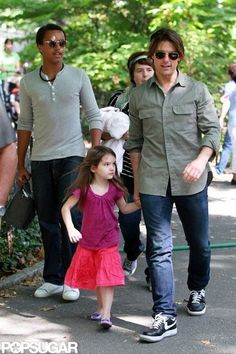 Tom Cruise has a daughter and a son, Connor and Isabella, with ex-wife Nicole Kidman, and his youngest daughter, Suri-2012