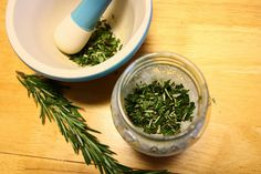 Rosemary Mint Body Scrub from Hiking in Stilettos