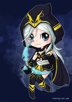 Chibi Ashe - League of Legends by linkitty on DeviantArt