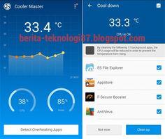 aplikasi pendingin CPU android yang paling populer dan dapat mengurangi panas smartphone ketika digunakan. Aplikasi pendingin CPU ini dapat didownload