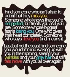 find someone...