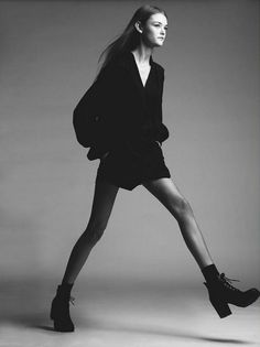 Contemporary style. Long legs, tall frame!