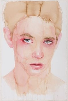 View Young man by Cherry Hood on artnet. Browse upcoming and past auction lots by Cherry Hood. Watercolor Face, Watercolor Portraits, Portrait Art, Young Man, Contemporary Artists, Melbourne, Art Projects, Cherry, Lens
