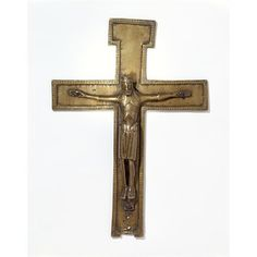 Altar cross, 12th century. V&A