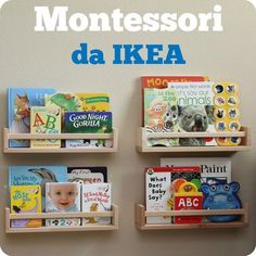 stanza bimbo Montessori da Ikea