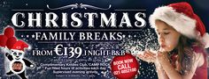 Carrigaline Court Hotel - promotion of Christmas rates. Family Christmas, Camp Rock, Broken Families, Promotion, How To Apply, Activities, Books, Libros