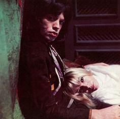 "angelavashakidze: ""Mick Jagger & Anita Pallenberg in 'Performance', directed by Donald Cammell & Nicolas Roeg, 1968 """