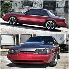 Beautiful foxbody coupe #Mustang.