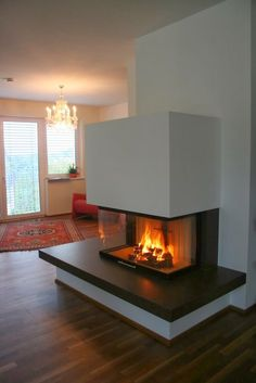 Most current Snap Shots indoor Fireplace Design Tips Whether or not your house is throughout Aspen or maybe California, there is no not accepting the actual relaxing result Home Fireplace, Modern Fireplace, Fireplace Design, Fireplaces, Recessed Electric Fireplace, Kitchen Chimney, O Gas, Coffee Table Design, Minimalist Kitchen