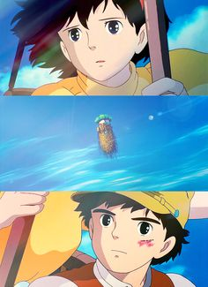Laputa: Castle in the Sky. I watched this movie so many times as a kid