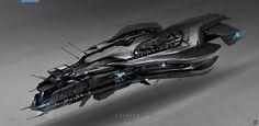 Sci-Fi ship - Поиск в Google