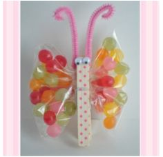 Cute bag of sweets for kids