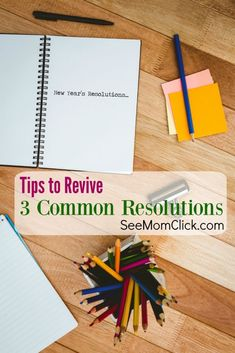 Are we falling off the New Year's Resolution wagon yet? I have some practical tips for reviving 3 of the most common resolutions. Get back on track today!AD