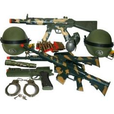 army toys | Ultimate Kids Toy Army Combat Set with B/o M16 Machine Gun,... review ...