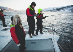 On this angling visit in Tromsø, you will have the option to encounter live angling exp at moderate rate. For more inquiry call Arctic Cruise, Tromso, Going Fishing, Catamaran, Norway, Boat, Tours, Summer, Waiting