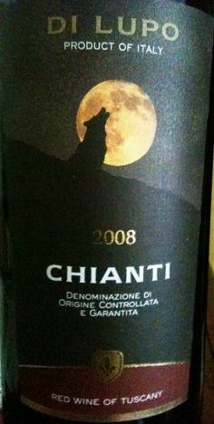 di lupo chianti, my new favorite red