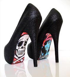 high heels rom Taylor Reeve