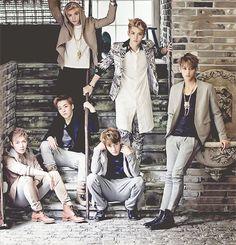 EXO-M for Men's Style magazine.