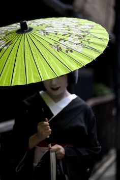 """""""Remember, geisha are not courtesans. We create another secret world, a place only of beauty. The very word """"geisha"""" means artist and to be a. We Are The World, People Of The World, Japanese Culture, Japanese Art, Japanese Pics, Michelle Yeoh, Memoirs Of A Geisha, Turning Japanese, Umbrellas Parasols"""