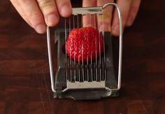Video: Krájač na vajíčka sa dá využiť aj na iné suroviny